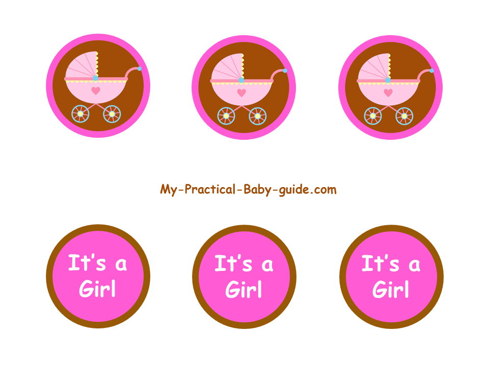 Free Printable Cupcake Toppers Girl Baby Shower - 1000+ images about ...