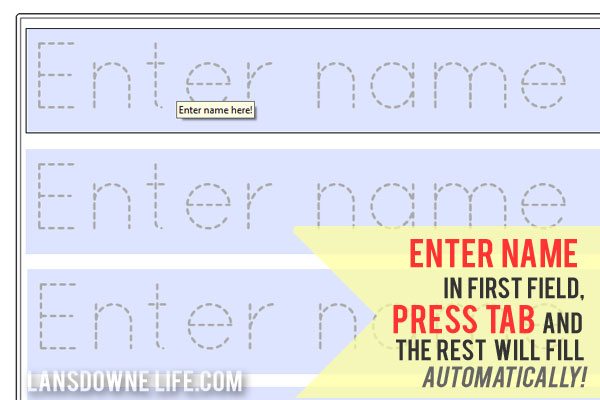 math worksheet : 7 best images of name printables for preschoolers  free printable  : Free Tracing Worksheets For Kindergarten