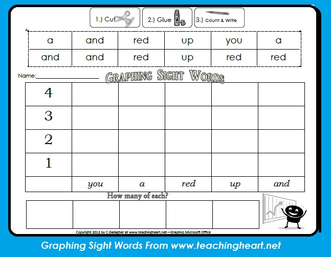 4 Images of Free Printable Sight Words Graph