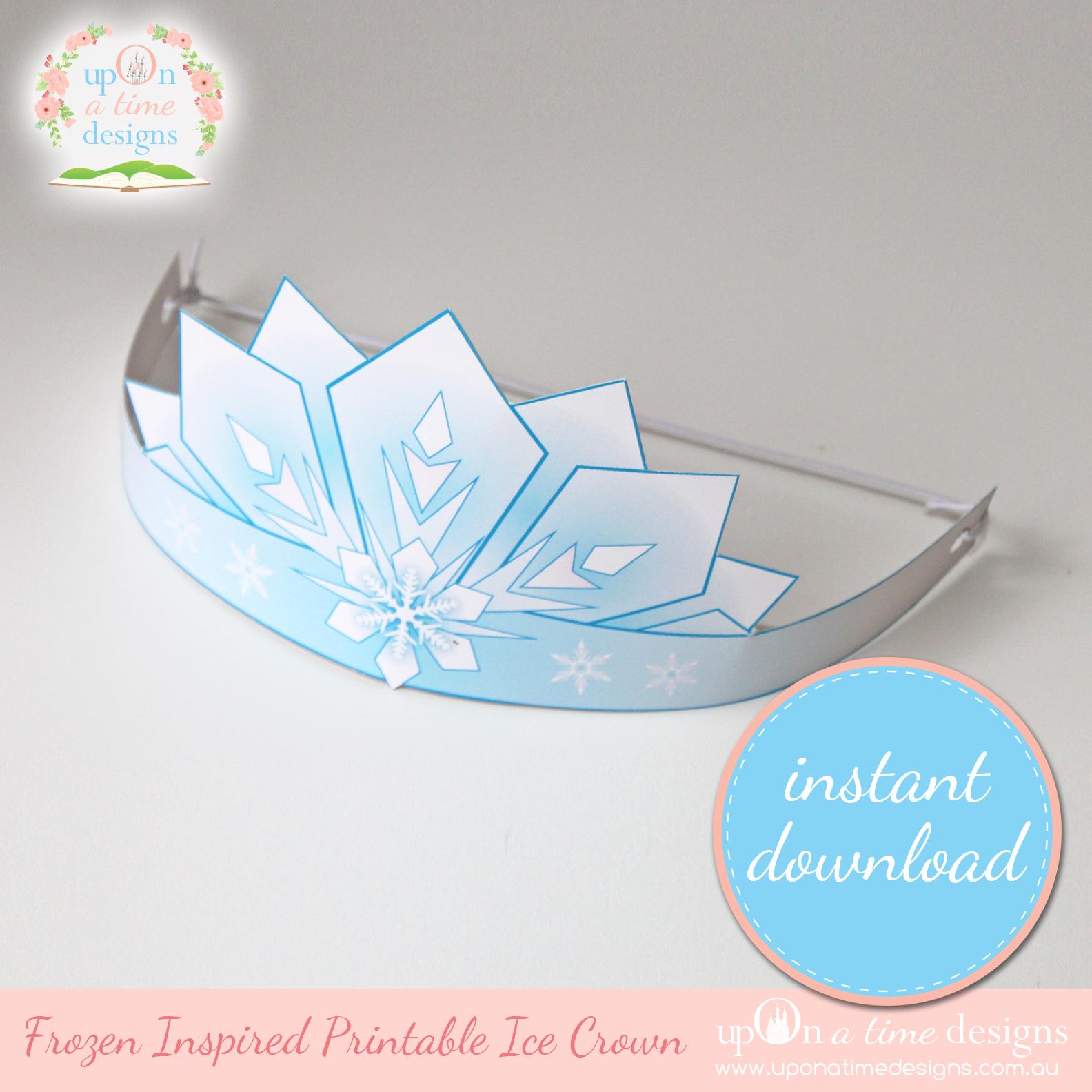 6 Images of Printable Frozen Tiara