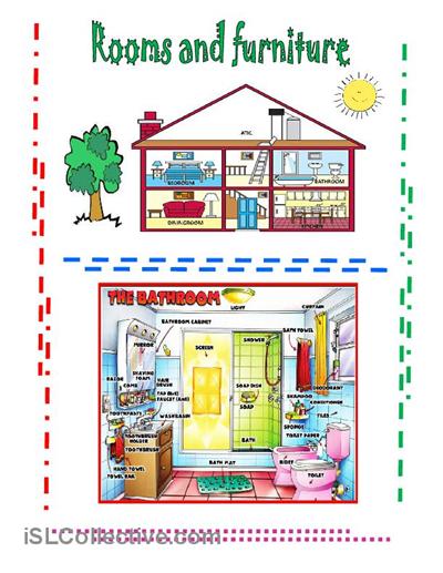 Furniture Printable Worksheet