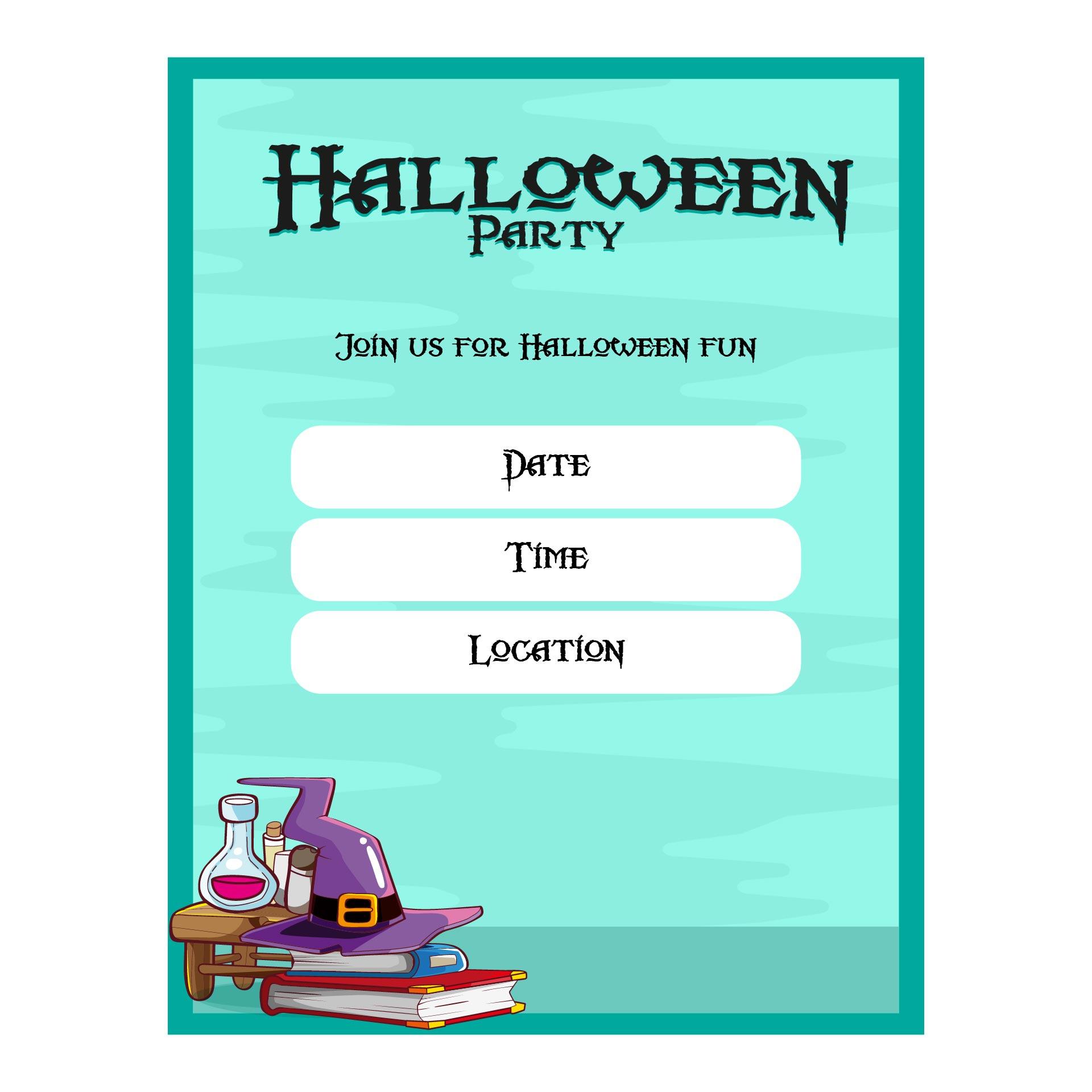 Printable Halloween Costume Party Invitations 33193 – Free Printable Halloween Costume Party Invitations