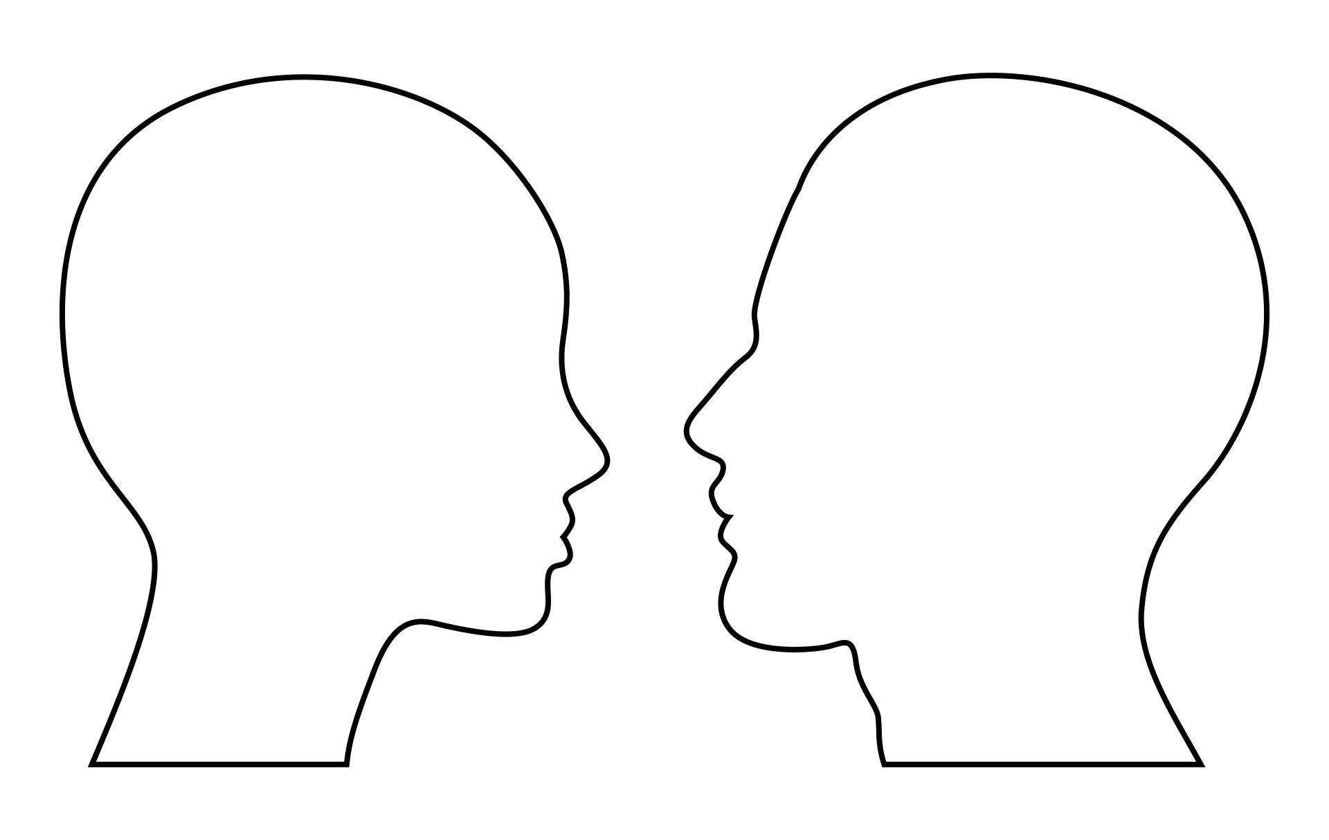 6 Images of Head Template Printable