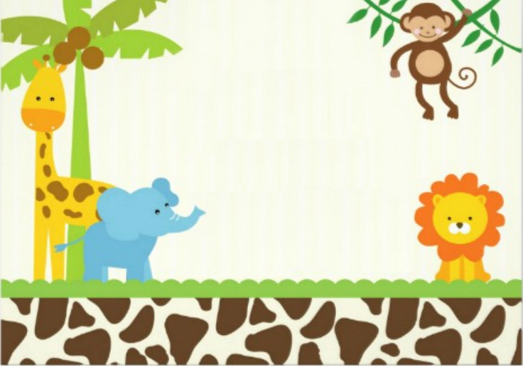 Jungle Safari Invitation Templates Free