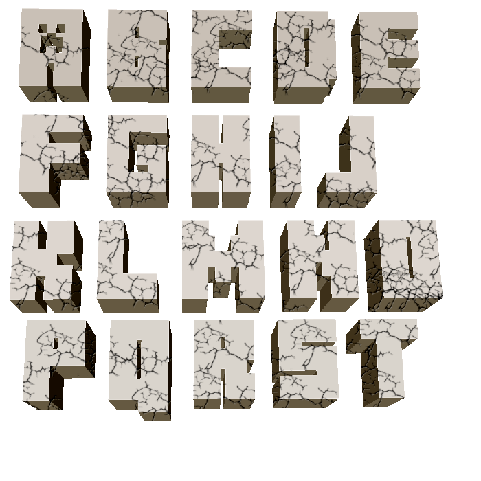 5 Images of Minecraft Printable Letters