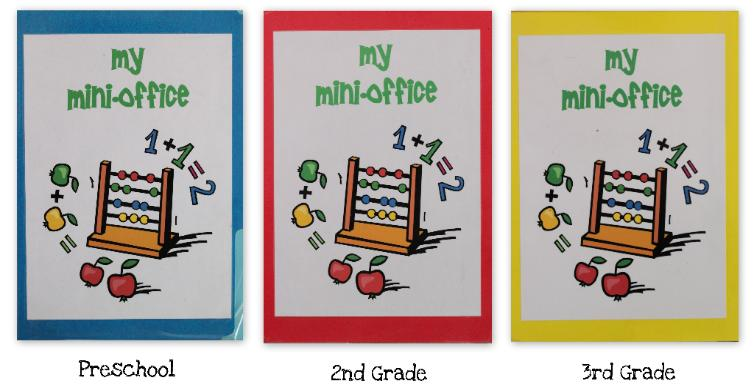 Mini Office Printables for 2nd Grade