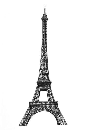 Paris Eiffel Tower Printables