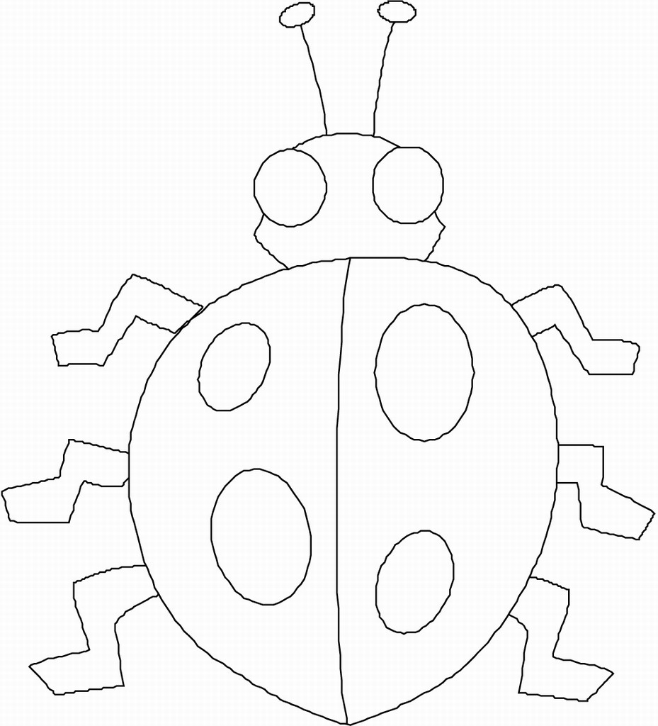 4 Best Images Of Bug Preschool Printables
