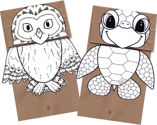 8 Images of Free Printable Paper Bag Craft