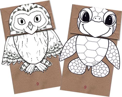 8 Images of Free Printable Paper Bag Craft