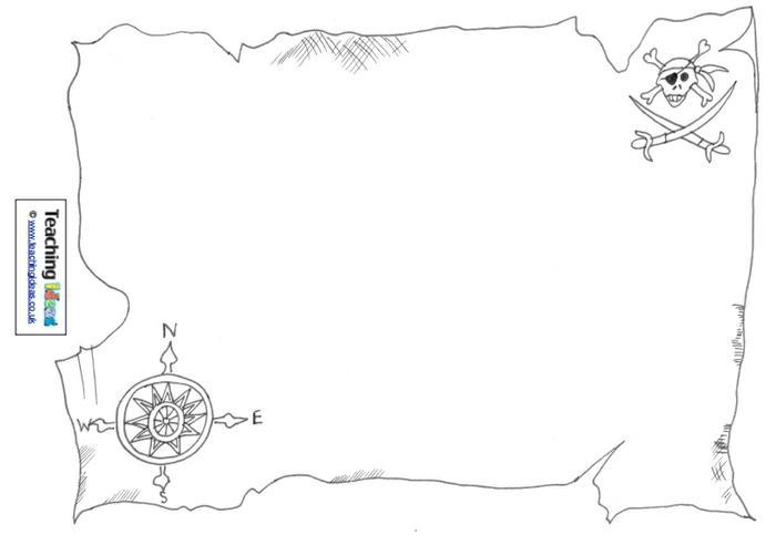 7 Images of Preschool Treasure Map Printable