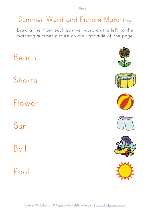 Printables Summer Worksheets 6 best images of printable summer worksheets activity worksheets
