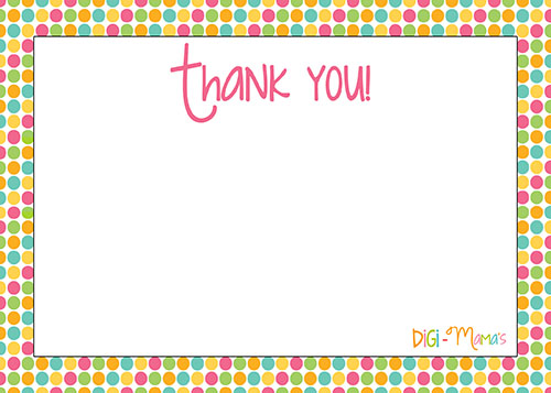 5 Images of Thank You Free Printable List