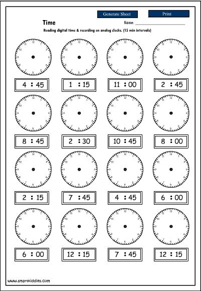 Time Worksheets time worksheets quarter past : Reading Time Worksheets. Fireyourmentor Free Printable Worksheets