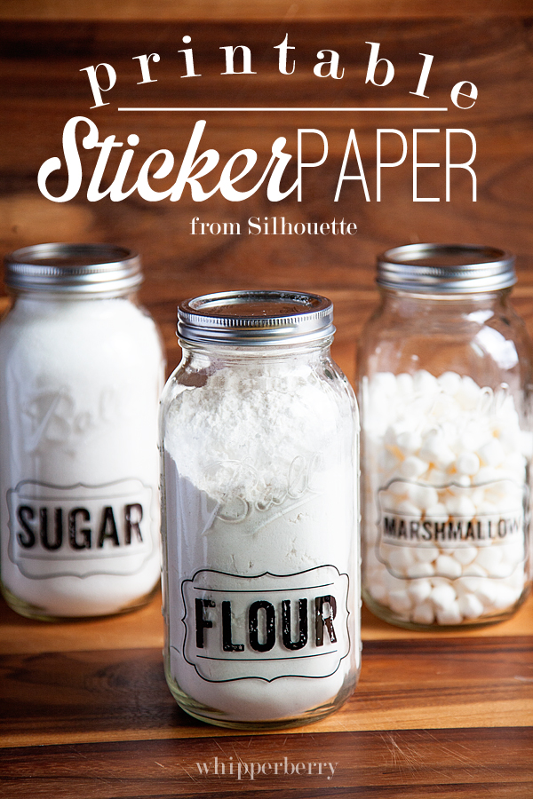 7 Images of Printable Sticker Paper Silhouette