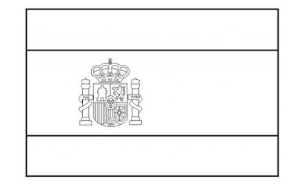 6 Images of Blank Printable Flag Of Spain