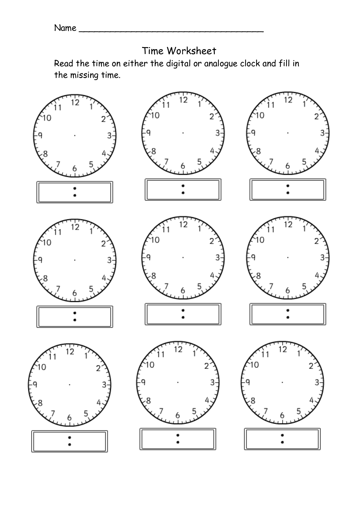 Worksheets Digital Clock Worksheets 5 best images of digital clock worksheets printable telling time clocks