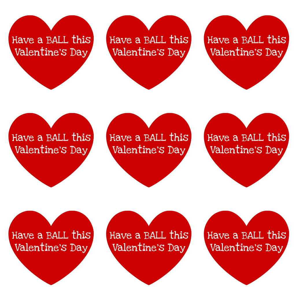 6 best images of printable small valentine hearts