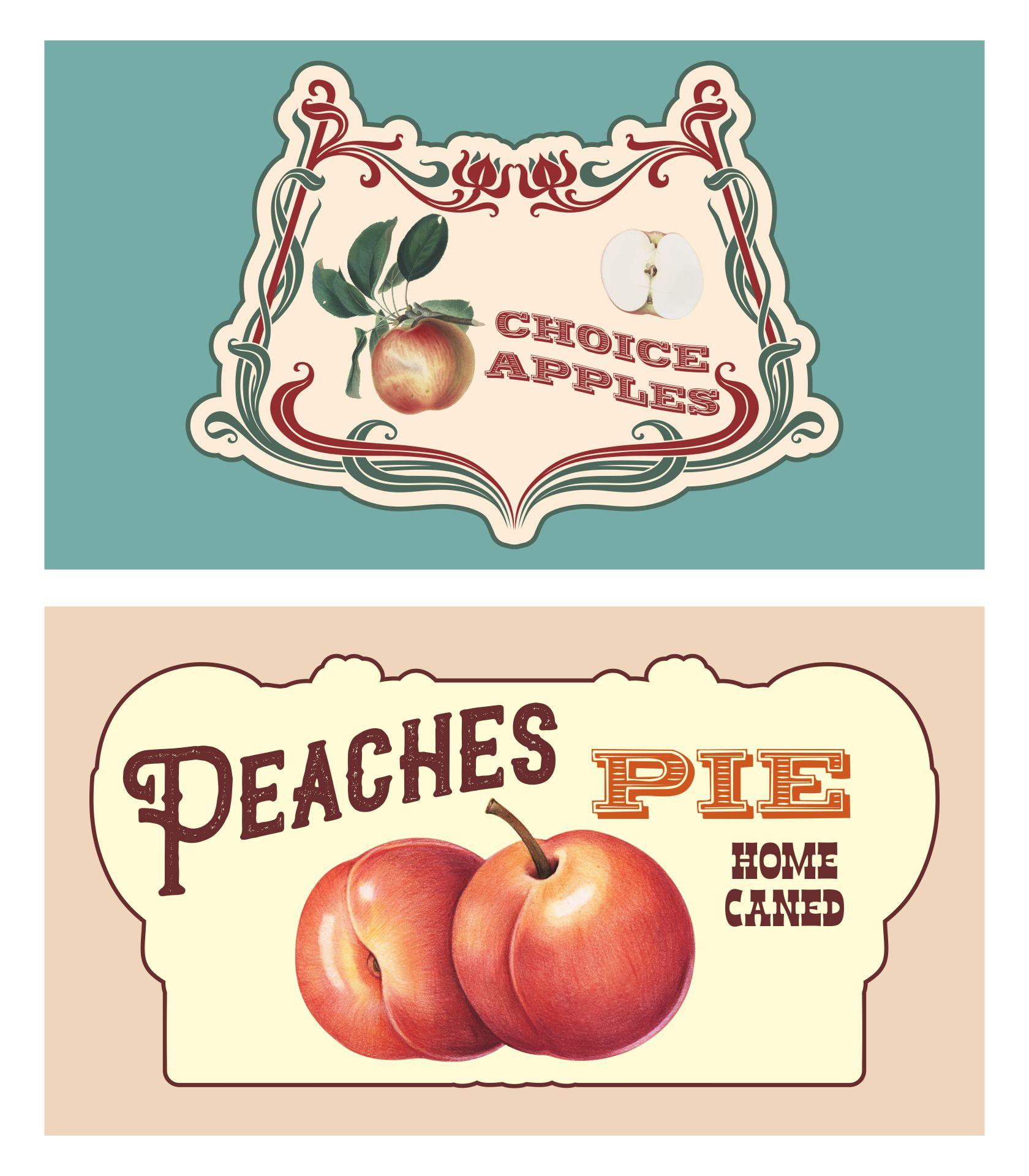 Vintage Can Label Printables