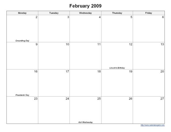 Monthly Calendar By Week : Best images of printable bi weekly calendar template