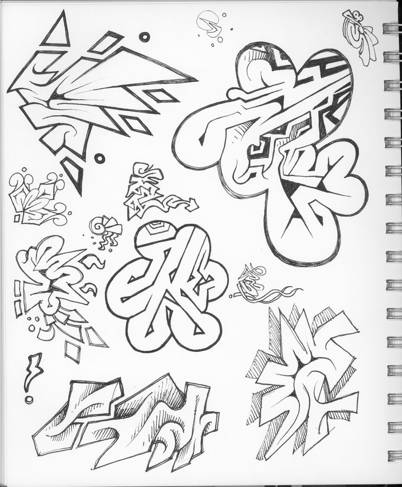 Cool Abstract Graffiti Drawings Images amp Pictures Becuo