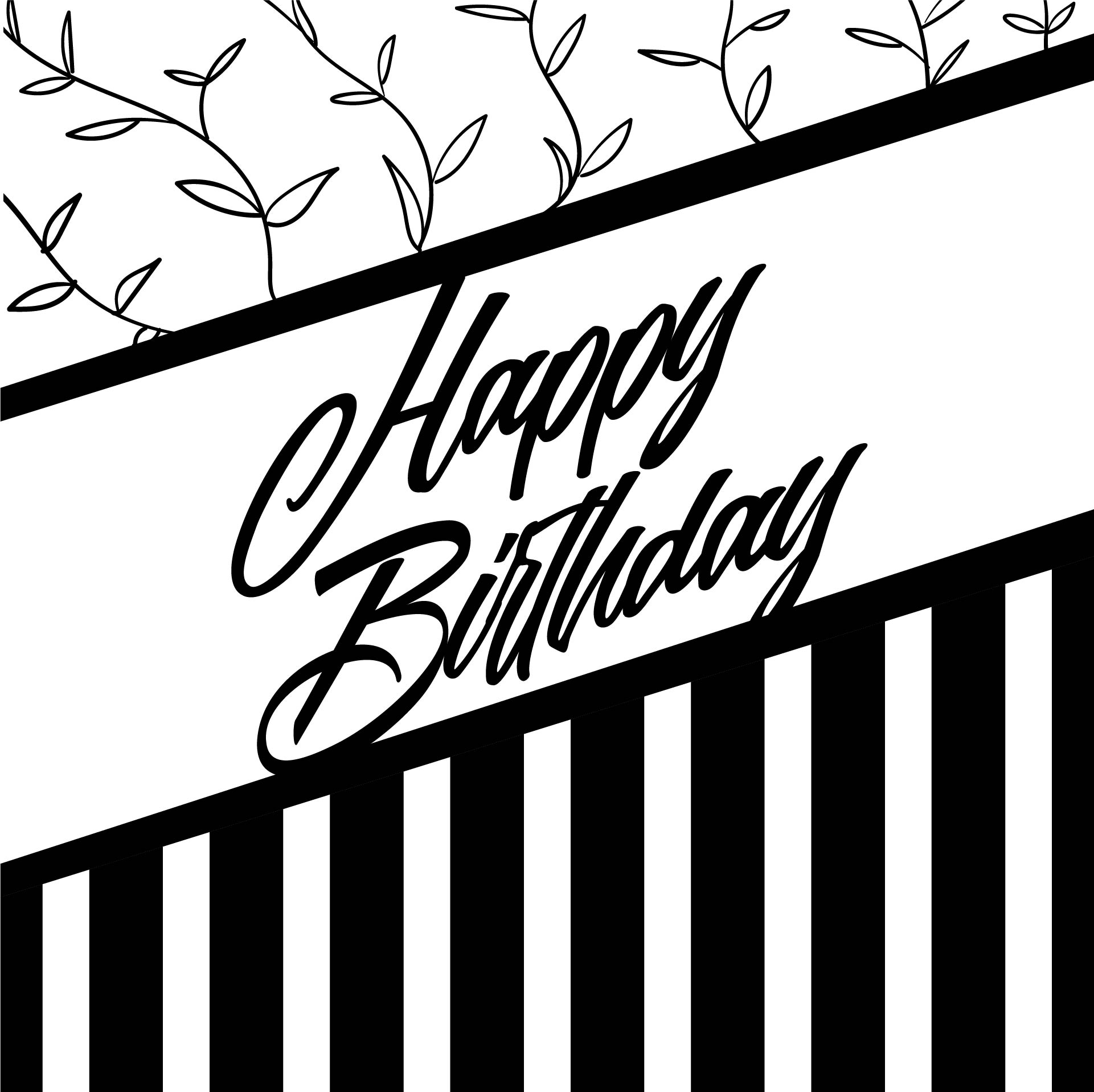 6 Best Images of Printable Folding Birthday Cards ...