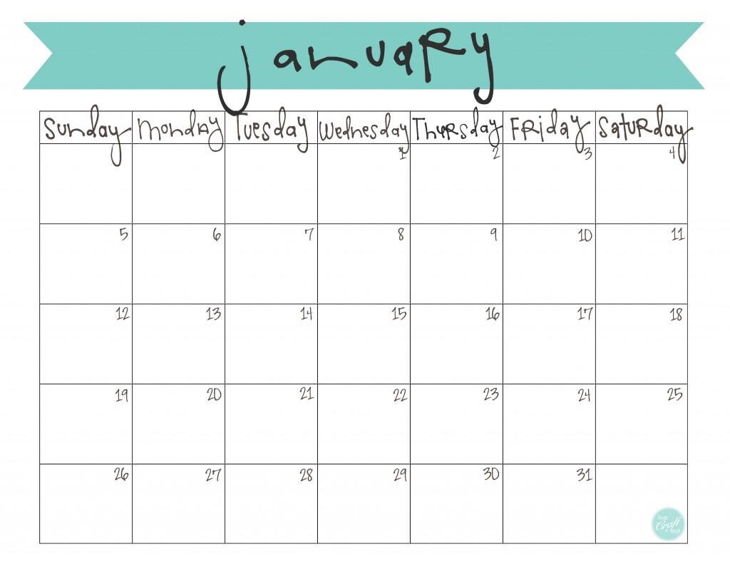 Cute Printable February 2014 Calendar