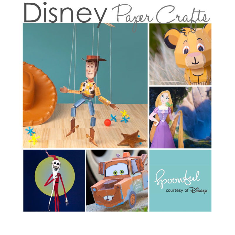 7 Images of Free Printable Disney Crafts