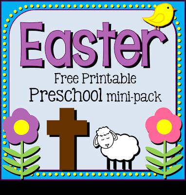 6 Images of Spring Printable Preschool Pack