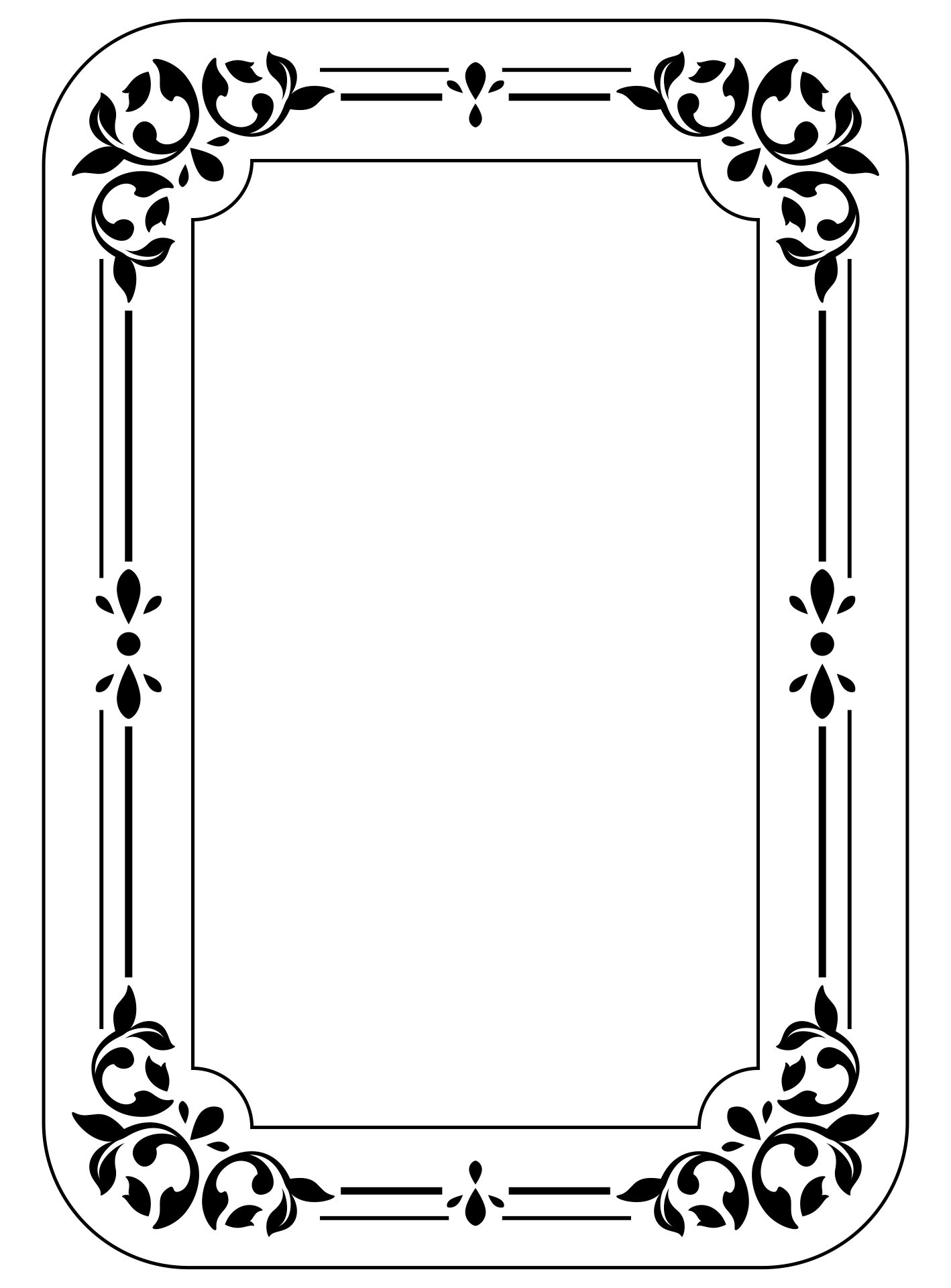 8 Best Images of Printable Coloring Page Picture Frame ...