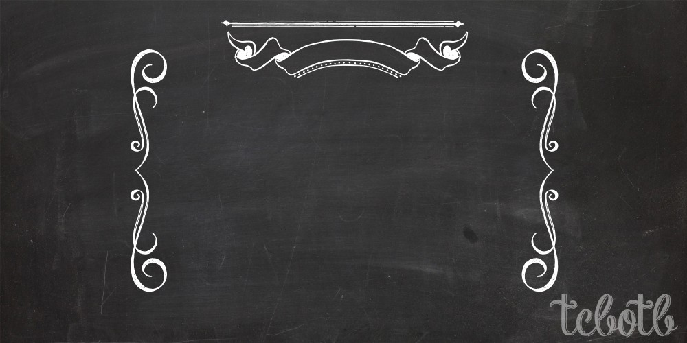 7 Images of Chalkboard Style Free Printable Borders