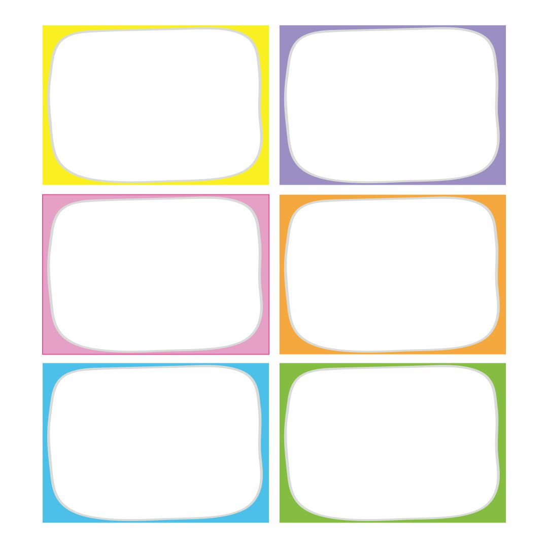Editable Printable Labels Tags