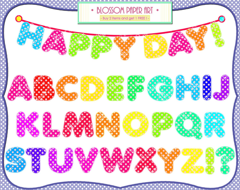 Free Printable Alphabet Clip Art