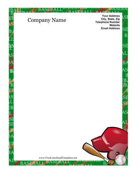 This is a picture of Baseball Template Printable with regard to baseball name tag