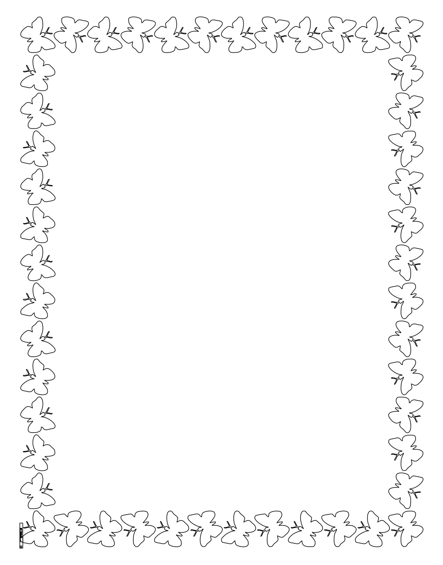 Printable Border Coloring Pages