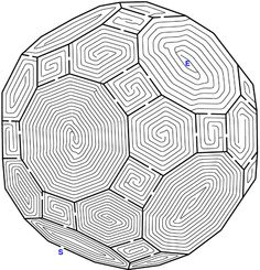 4 Images of Complex Mazes Printable