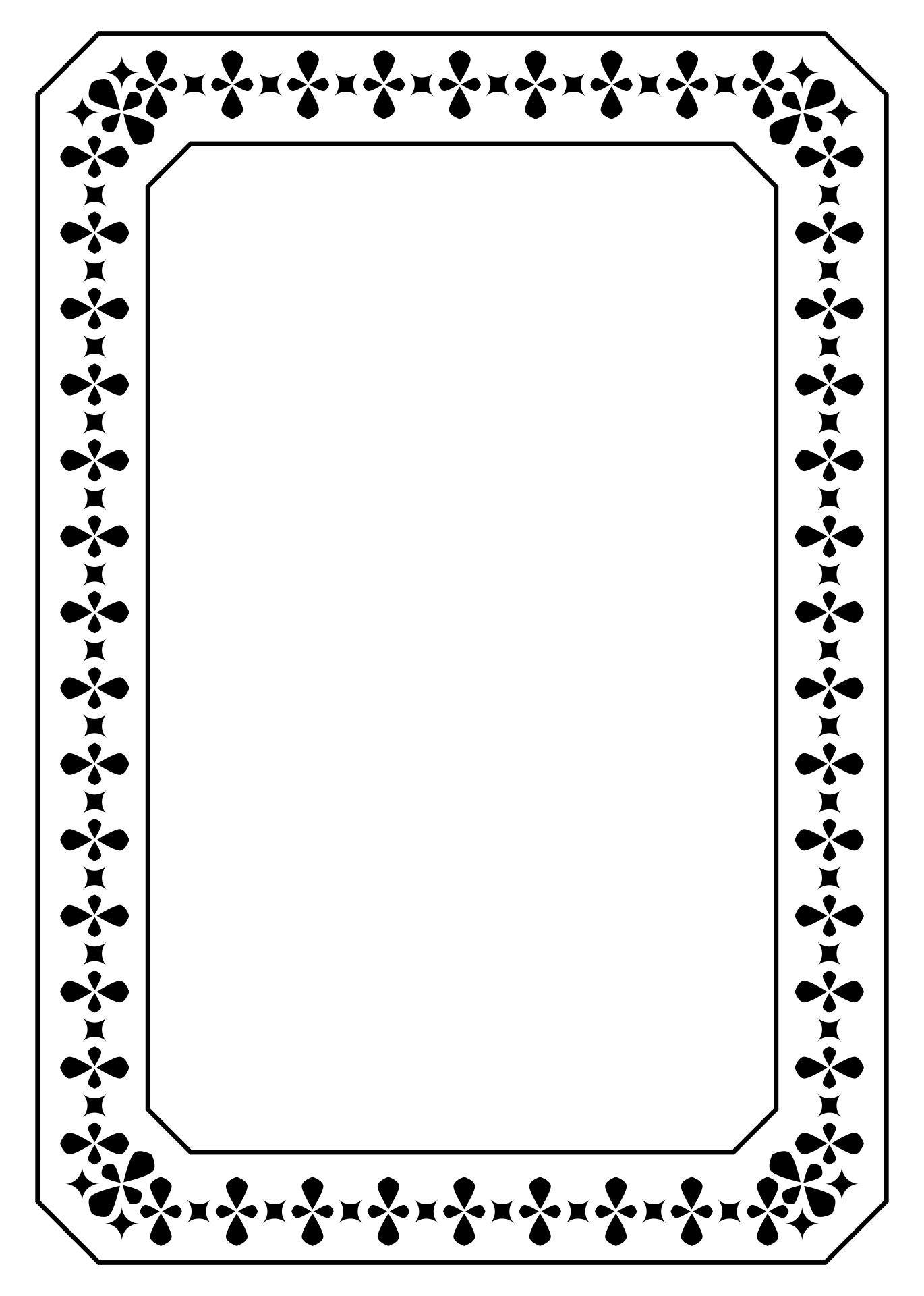 Printable Picture Frame Coloring Pages