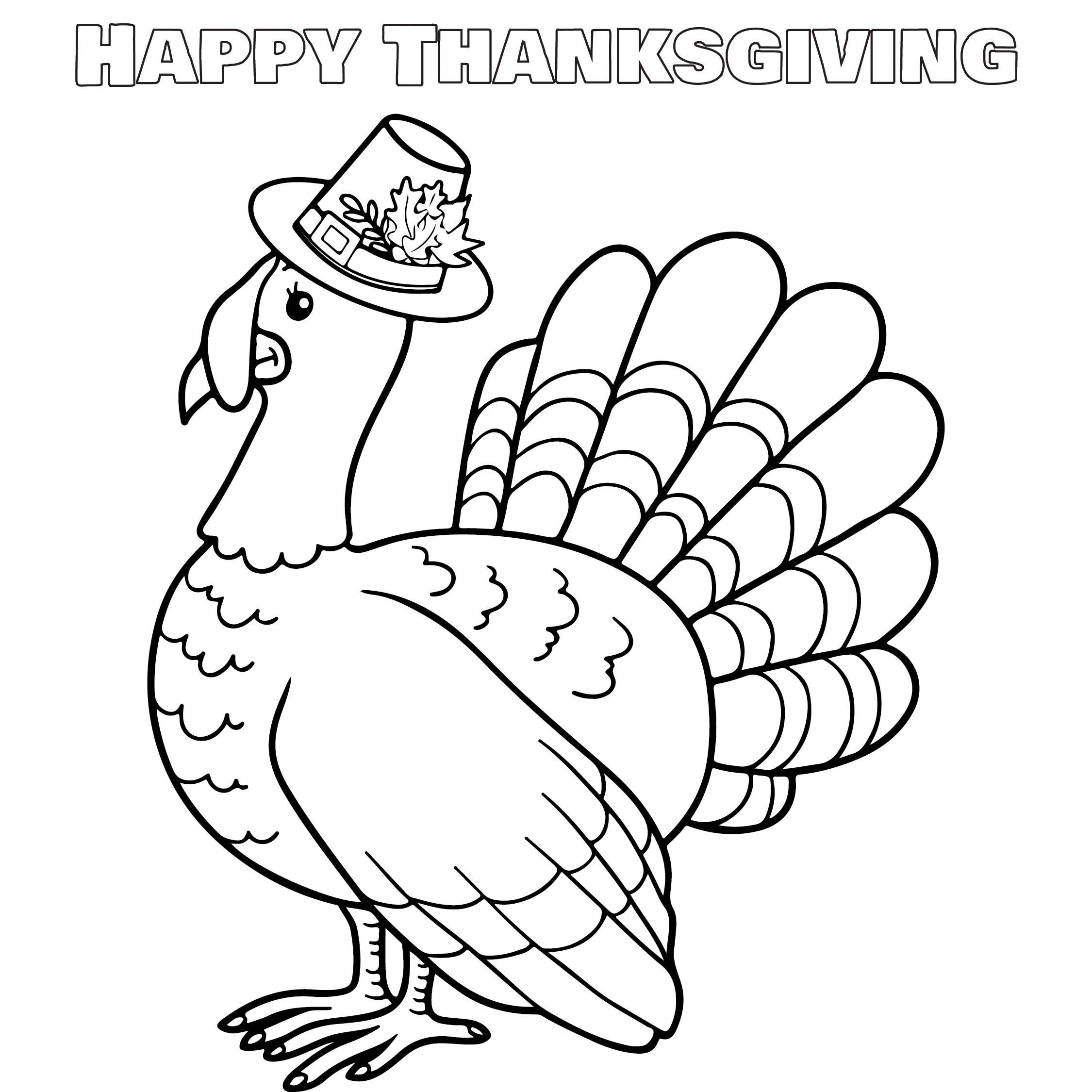 4 Images of Preschool Printable Thanksgiving Turkeys