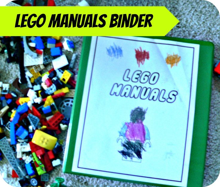 4 Images of LEGO Free Printable Binder Cover