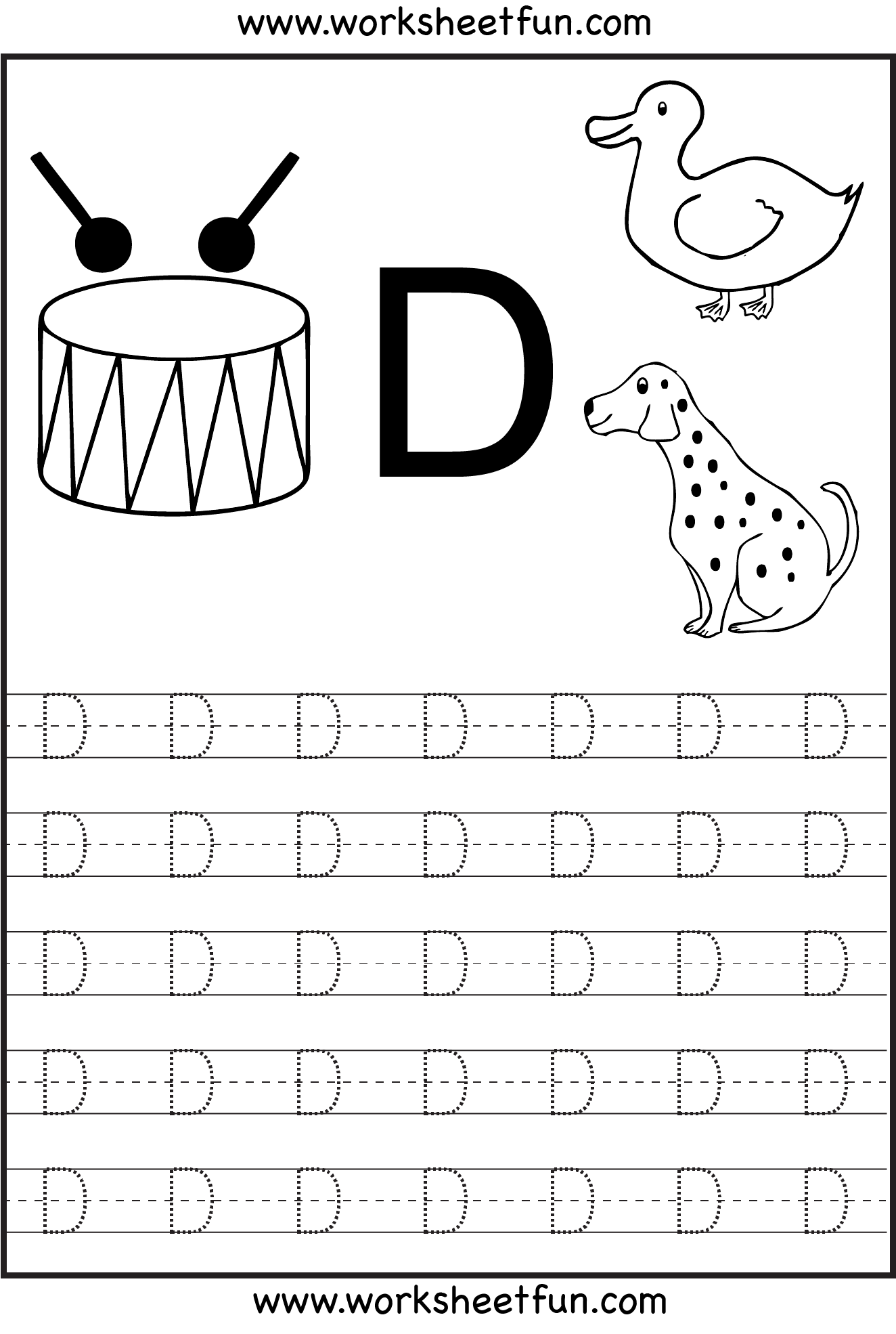 7 Best Images of A Capital Letter Tracing Preschool Worksheets ...