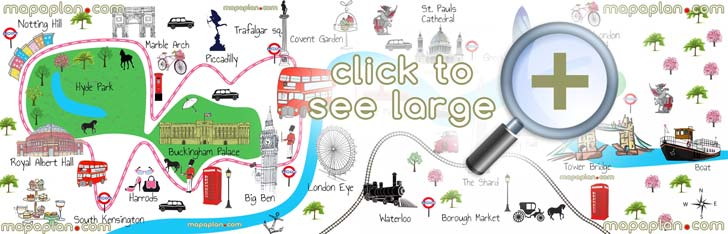 5 Best Images of London Tourist Map Printable Central London Map – London Map Of Tourist Attractions