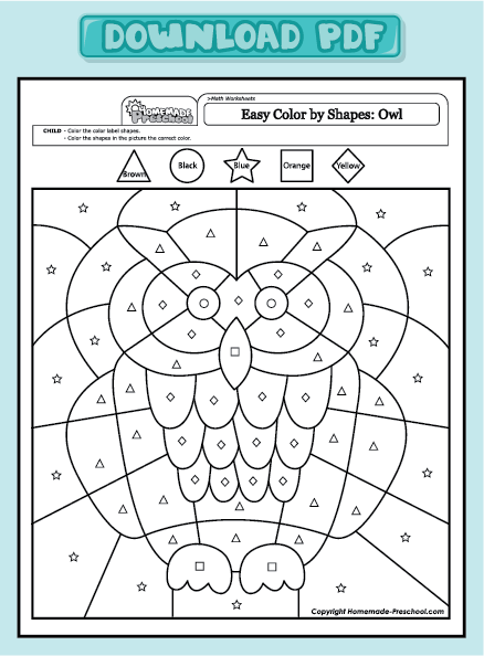 4 Best Images of Printable Owl Worksheets - Owl Body Parts ...