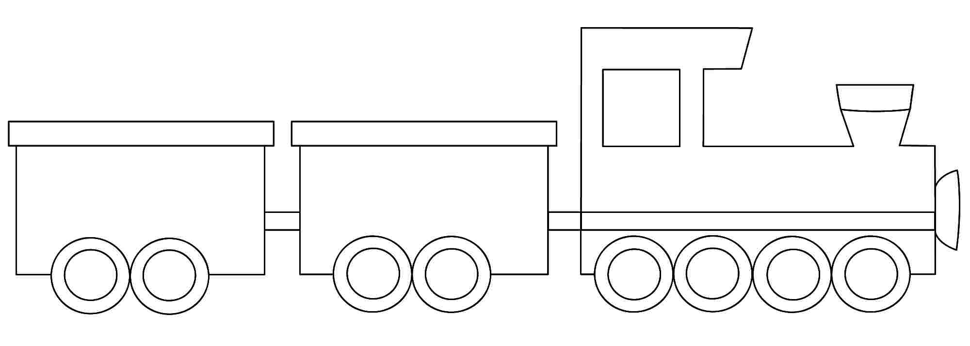 train printables coloring pages - photo#18