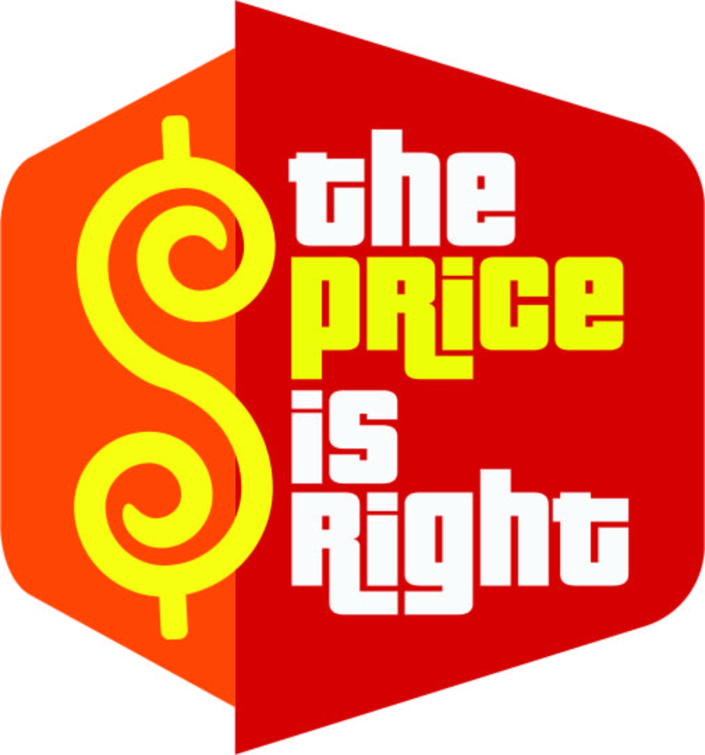 Price Is Right Logo Vector