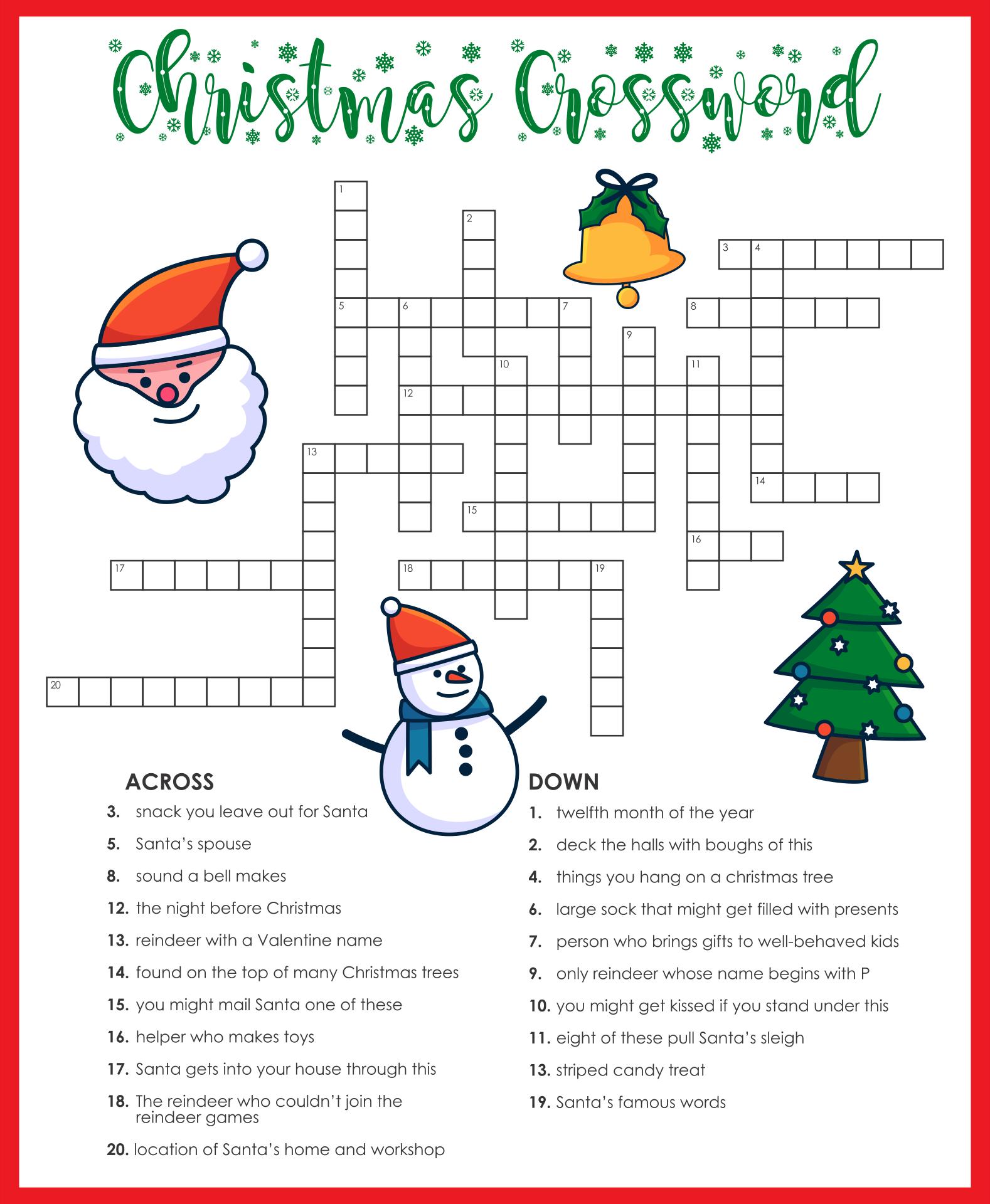 Printable Christmas Brain Teasers
