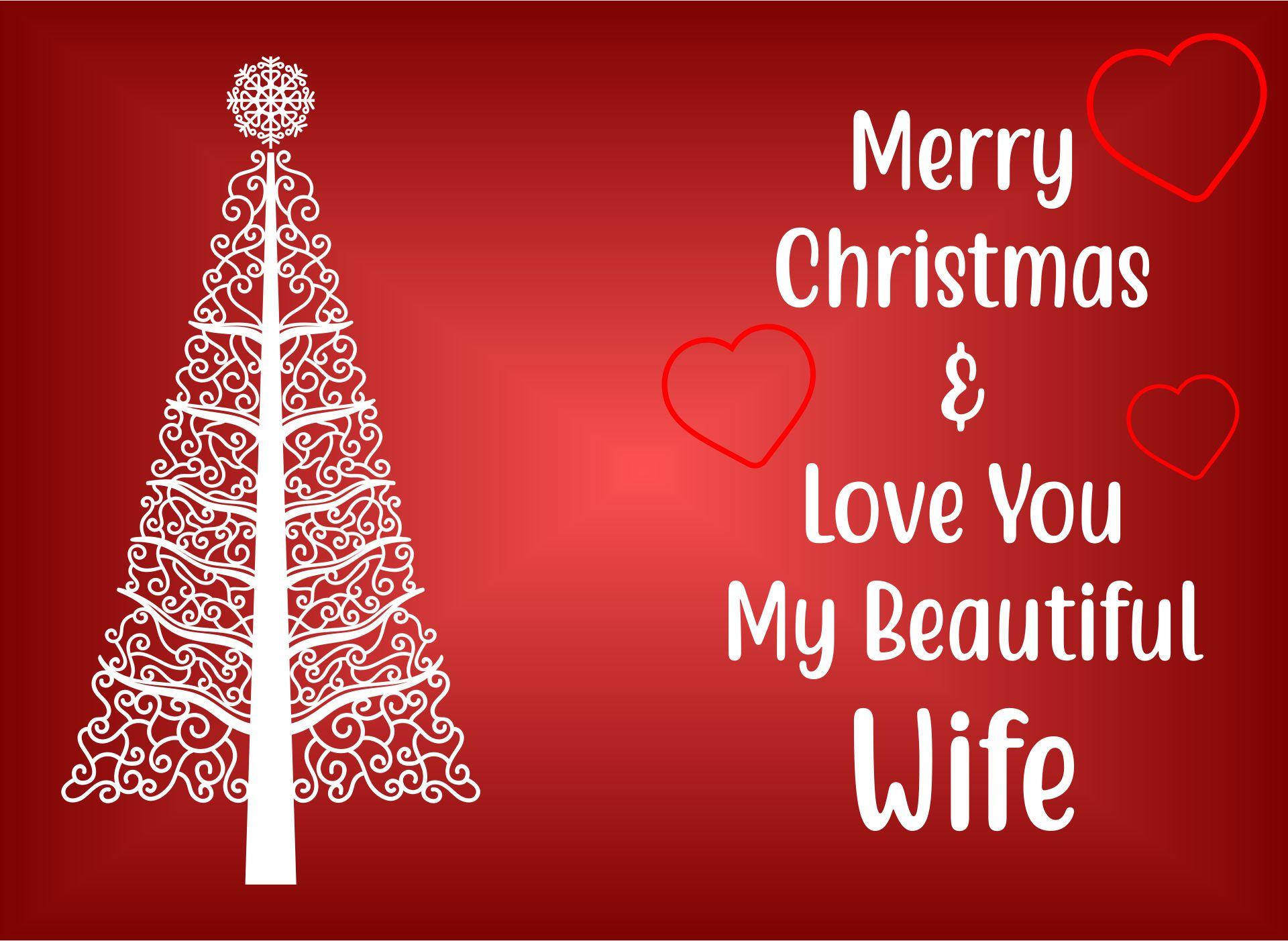 Printable Christmas Cards Wife
