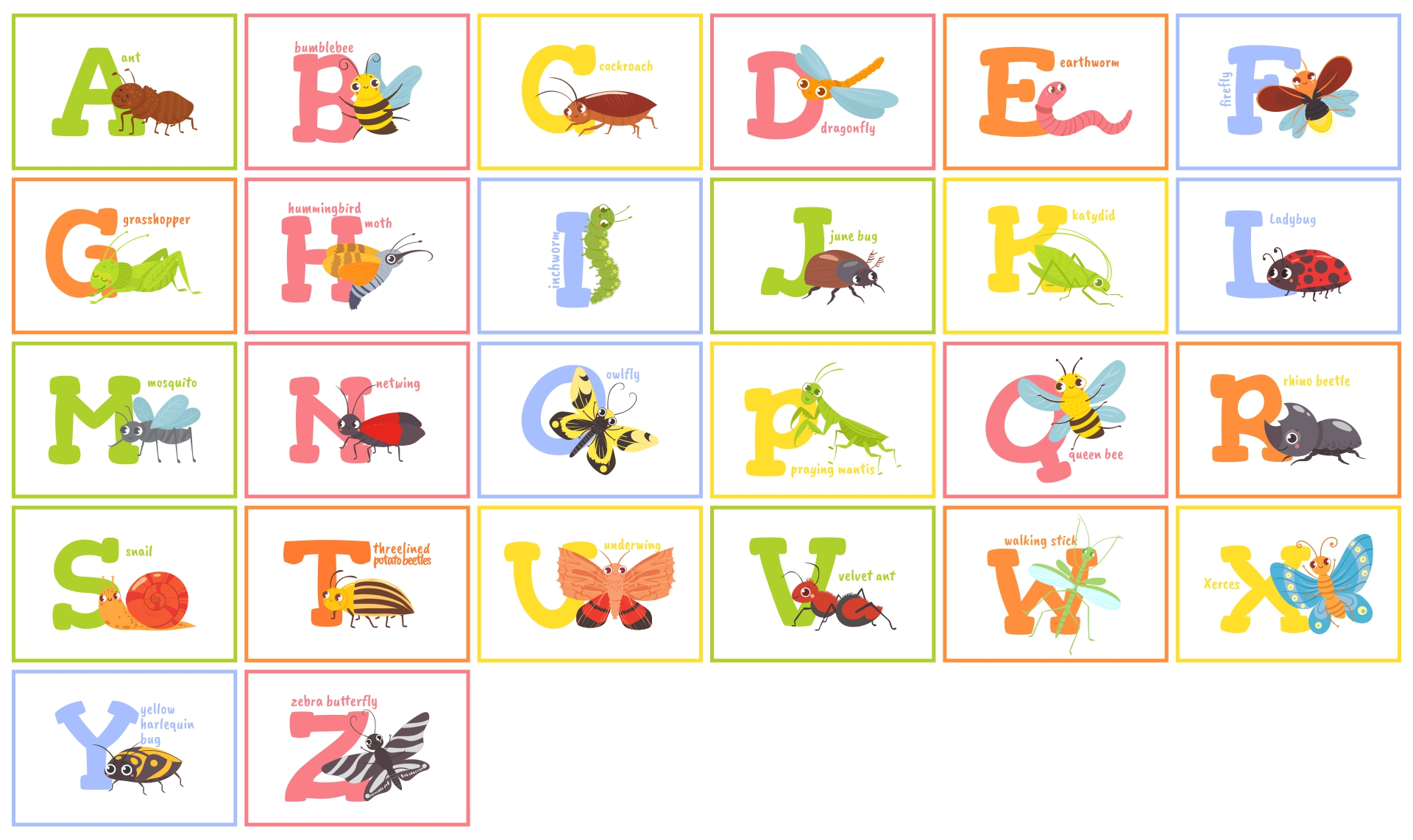 9 Images of Printable Alphabet Wall Posters