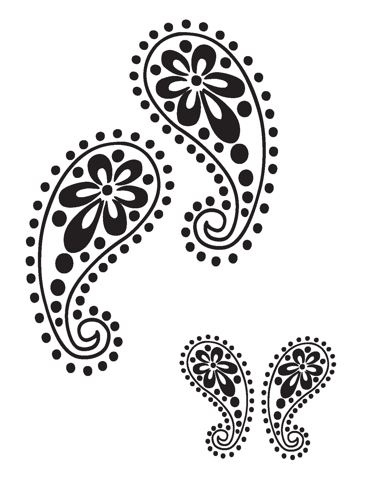 8 Images of Free Printable Design Stencils