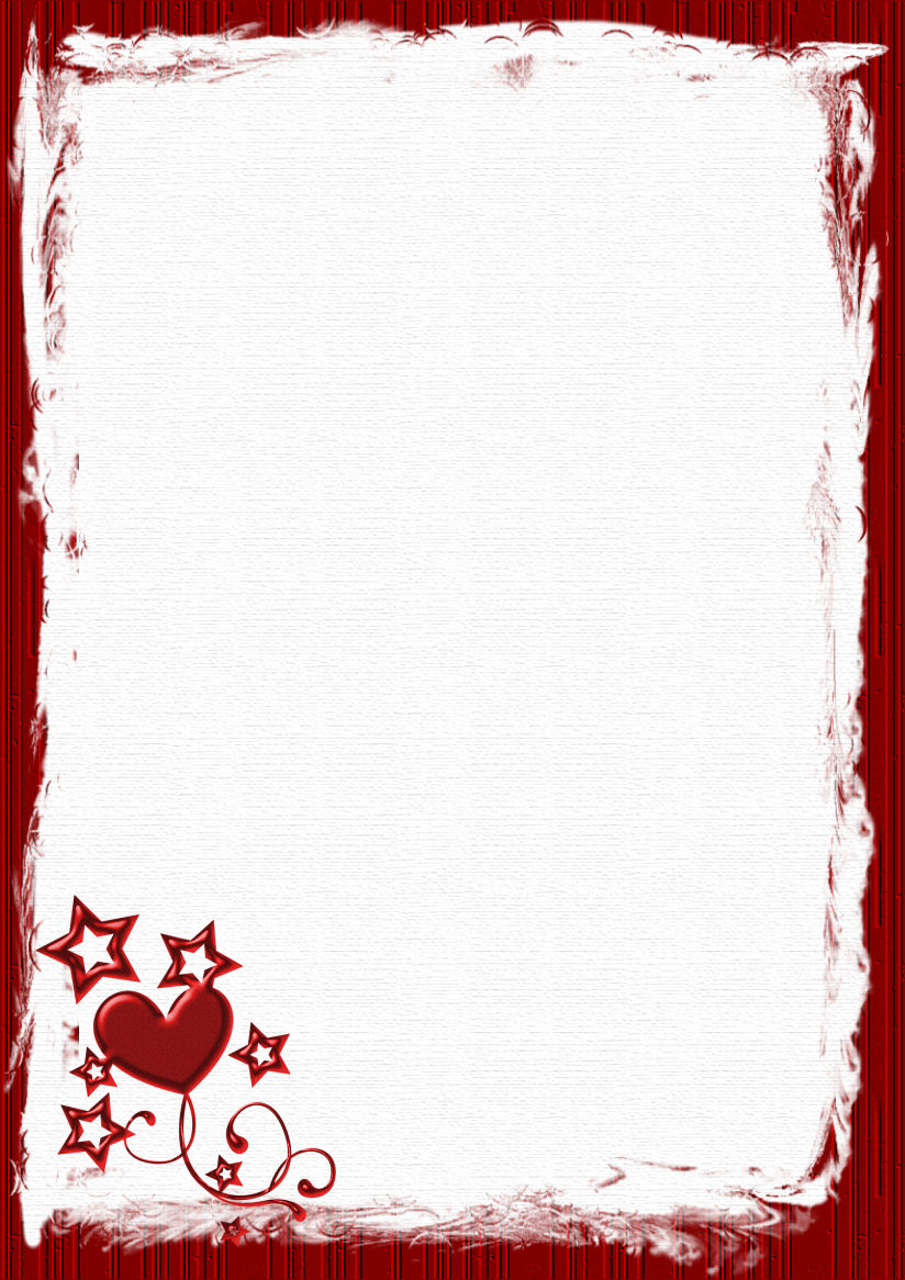 6 Images of Valentine's Day Stationery Printable
