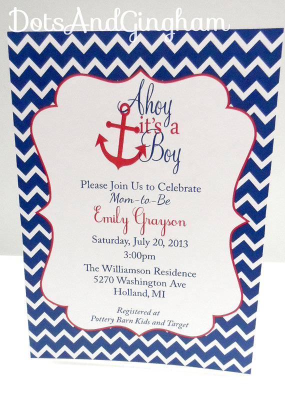 8 Images of Ahoy Free Printable Invitations